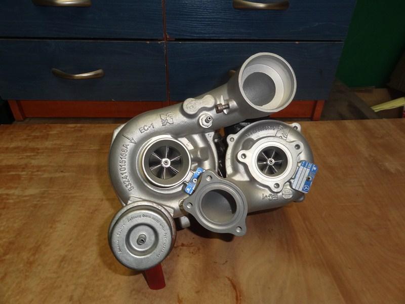 turbosprezarka mercedes e klasse 22cdi 170 204km 3 1