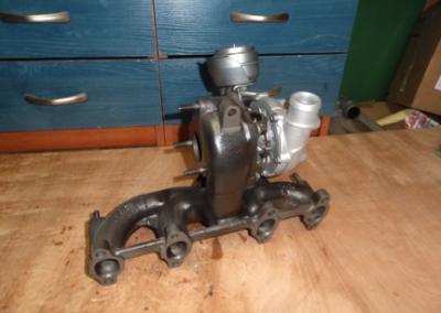 turbosprezarka skoda octavia 19 tdi 90 116km 2